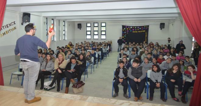 Tuzla Belediyesi, Okullarda Geri Dönüşüm Eğitimine Devam Ediyor