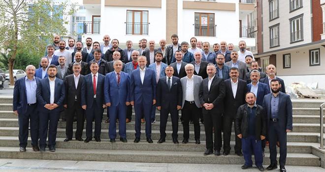 Başkan Poyraz Ddin Görevlilerini Ağırladı