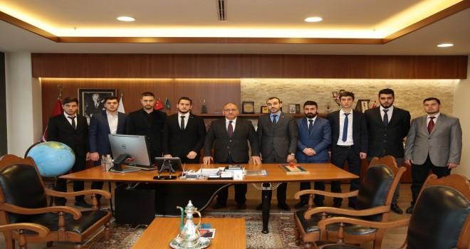 Başkan Hasan Can, Ümraniye Ülkü Ocakları Başkanı Kadir Ensar Ejder ve Yönetim Kurulunu Ağırladı