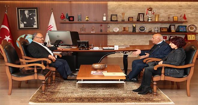 22. Dönem CHP Kastamonu Milletvekili Mehmet Yıldırım'dan Başkan Hasan Can'a Ziyaret