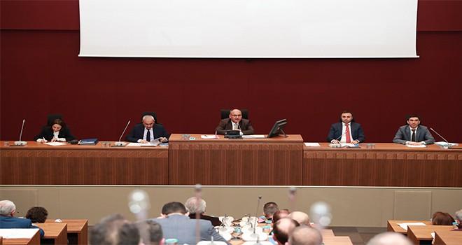 Ümraniye Belediye Meclisi Başkan Hasan Can'ın Başkanlığında Son Kez Toplandı