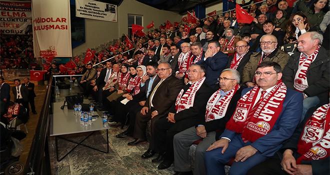 Başkan Hasan Can, Sivaslı Hemşehrilerle Bir Araya Geldi