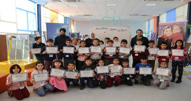 Kış Bilim Okuluna Ara Tatil'de Yoğun Katılım