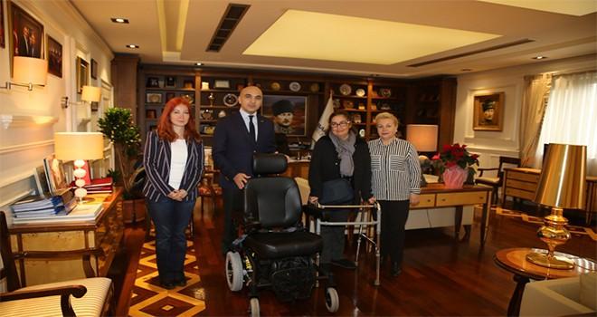 Başkan Kerimoğlu, ALS-MNH Hastasını Sevindirdi