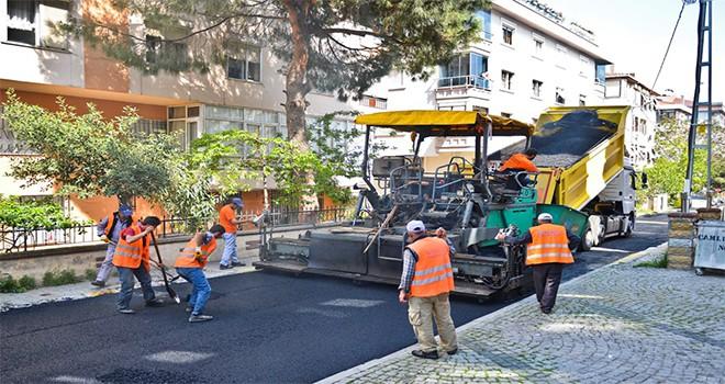 Maltepe'de 5 yılda 198 kilometre yol asfaltlandı