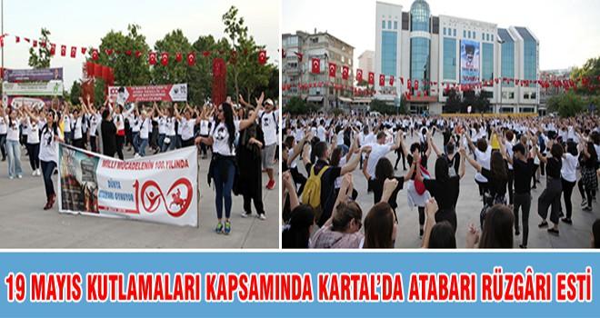 19 Mayıs Kutlamaları Kapsamında Kartal'da Atabarı Rüzgarı Esti