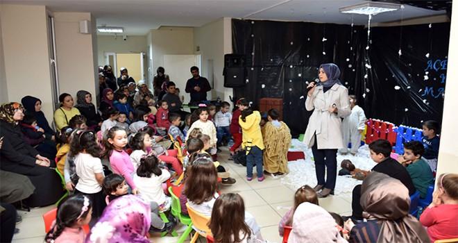 Tuzla Belediyesi Anne Çocuk Eğitim Merkezi'nde 'Bir Kış Masalı' Yaşanıyor