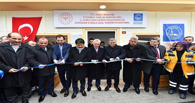 Yavuztürk 112 Acil Servisi Açılışı Gerçekleştirildi