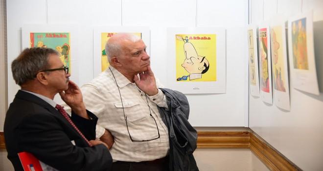 Siyaset Ve Karikatür Sergisi Açıldı