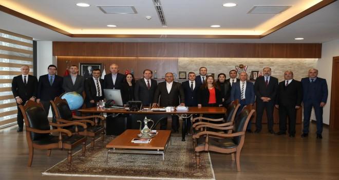 Başkan Hasan Can AYEDAŞ Yetkilileri İle İstişare Toplantısı Yaptı