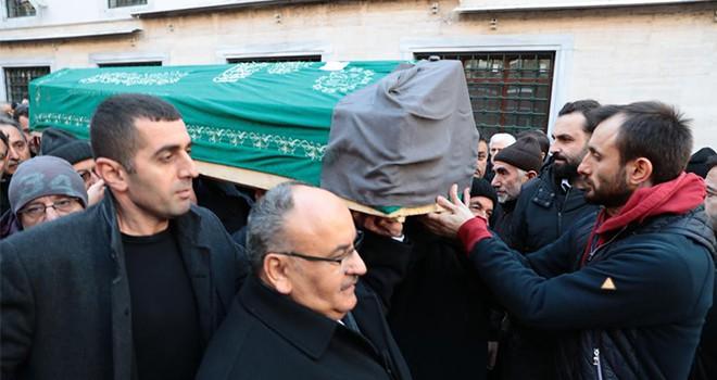 Başkan Hasan Can Sabahat Kızıltan'ın Cenaze Törenine Katıldı