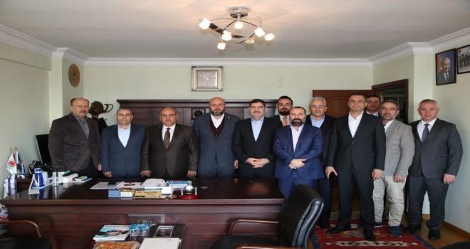 Başkan Hasan Can'dan TES-İŞ İstanbul 3 Nolu Şube Başkanlığına Ziyaret