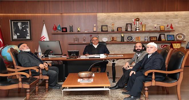 İmam-ı Şafi Camii Derneği'nden Başkan Hasan Can'a Ziyaret