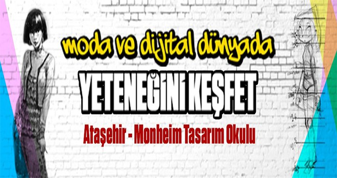"""""""Ataşehir Monheım Tasarım Okulu""""nda Eğitimler Başlıyor"""