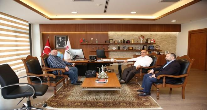Başkan Hasan Can, Cafe Siyaset İnternet Haber Sitesi'ne Röportaj Verdi