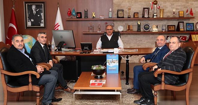 İstanbul Yozgat Konfederasyonu'ndan Başkan Hasan Can'a Ziyaret