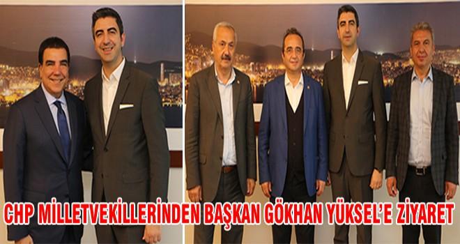 CHP Milletvekillerinden Başkan Gökhan Yüksel'e Ziyaret