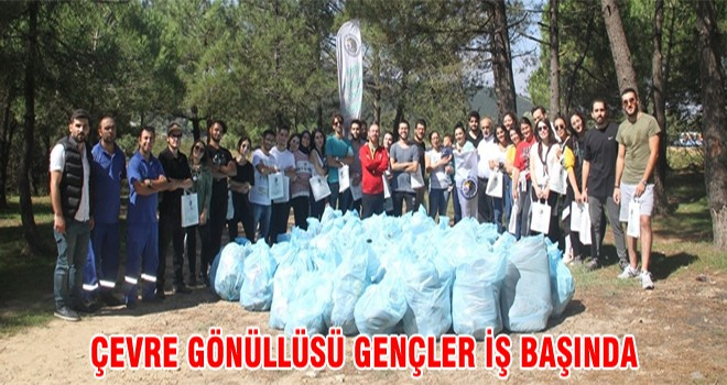 Çevre Gönüllüsü Gençler İş Başında