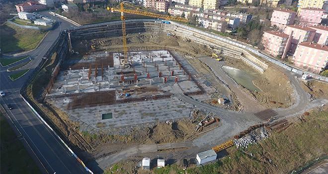 Gaziosmanpaşa Şehir Stadyumu İnşaatı Tüm Hızıyla Devam Ediyor