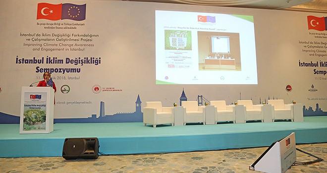 Ataşehir Belediyesi Projesiyle İklim Sempozyumunda Farkını Anlattı