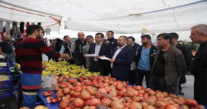 Ümraniye Belediyesi Zabıta Ekipleri Sıkı Denetimlerini Sürdürüyor