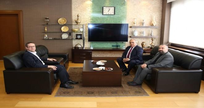 Başkan Hasan Can'dan Başakşehir Belediye Başkanı Yasin Kartoğlu'na Ziyaret