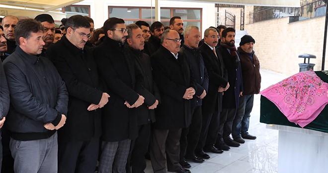 Başkan Hasan Can Ümraniye Belediye Personeli Şaban Aytaç'ın Eşinin Cenazesine Katıldı