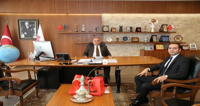 İstanbul Büyükşehir Belediye Meclis Üyesi Umut Ekşi'den Başkan Hasan Can'a Ziyaret