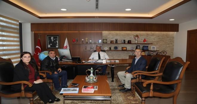 Ümraniye Çağdaş Sitesi'nden Başkan Hasan Can'a Ziyaret