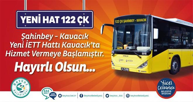 122 ÇK Kavacık-Çekmeköy-Şahinbey Seferlere Başladı