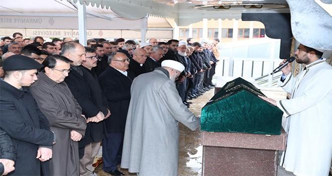 Başkan Hasan Can, AK Parti Ümraniye İlçe Başkan Yardımcısı İmdat Köseoğlu'nun Kayınpederi'nin Cenaze Törenine Katıldı
