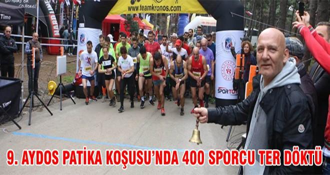 9. Aydos Patika Koşusu'nda 400 Sporcu Ter Döktü
