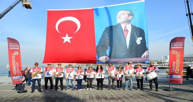 Kadıköy Cumhuriyet Kutlamalarına Devam Ediyor
