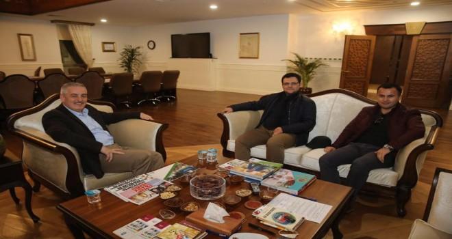 Kardeş Belediye Gürpınar'dan ziyaret