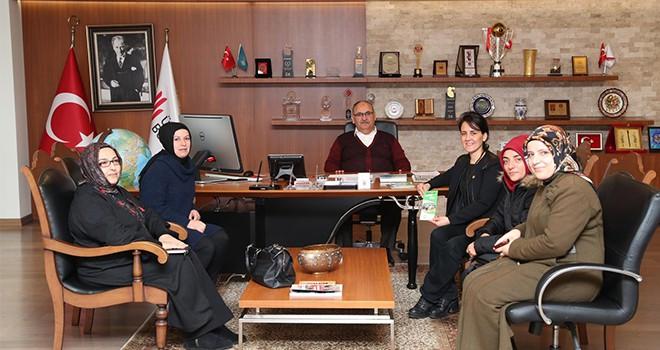 Glutensiz Hayat Derneği'nden Başkan Hasan Can'a Ziyaret