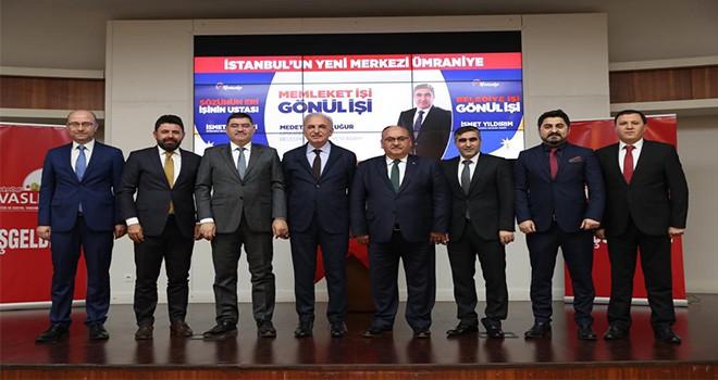 Başkan Hasan Can Sivaslı Hemşehrilerle Bir Araya Geldi
