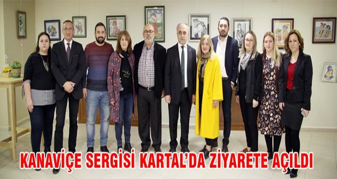 Kanaviçe Sergisi Kartal'da Ziyarete Açıldı