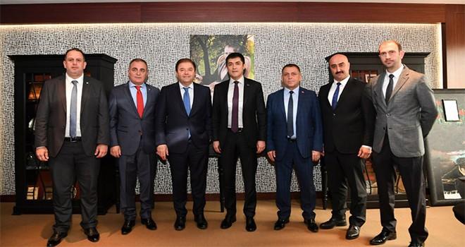İyi Parti İstanbul İl Başkanı'ndan Ali Kılıç'a ziyaret