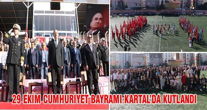 29 Ekim Cumhuriyet Bayramı Kartal 'da Kutlandı