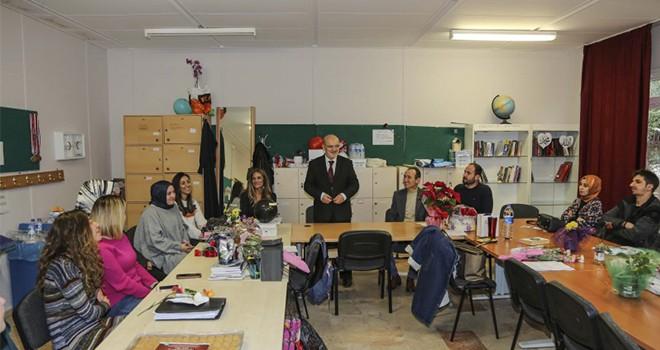 Beykoz Belediyesi'nden Öğretmenler Günü Ziyaretleri