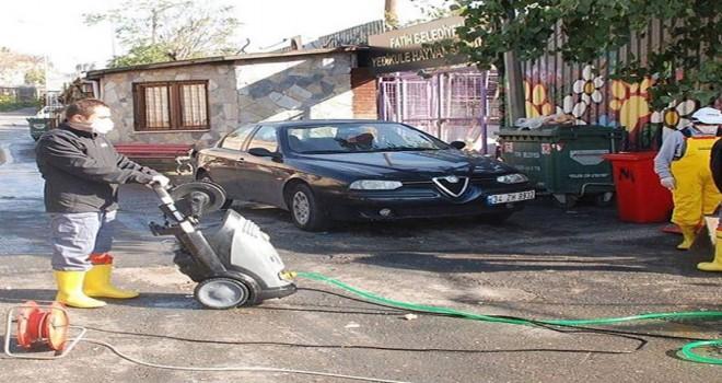 Fatih Belediyesi Yedikule Hayvan Barınağında Kış Temizliği