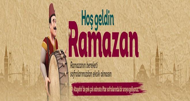 Ataşehirliler Ramazan Sofralarında Buluşuyor