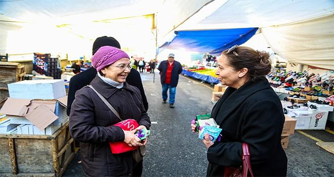 Maltepeli kadınlardan 8 Mart'a özel kurabiye