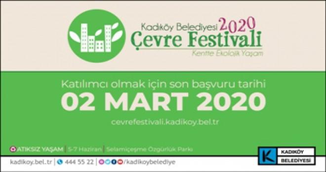 Çevre Festivali'ne Başvurular Başladı