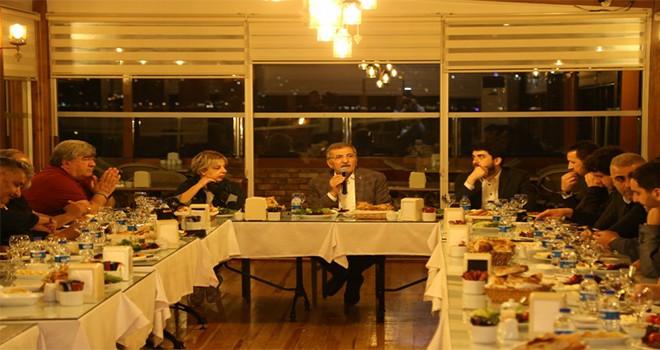 Beykoz Belediye Başkanı Murat Aydın Yerel Basın Temsilcileriyle Sahur Yaptı