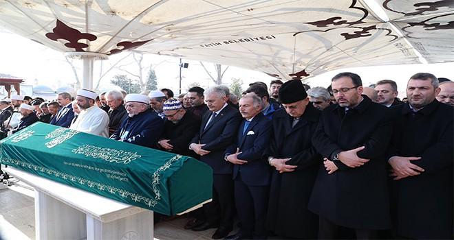 Başkan Hasan Can, Bayrampaşa Belediye Başkanı Atilla Aydıner'in Abisinin Cenazesine Katıldı