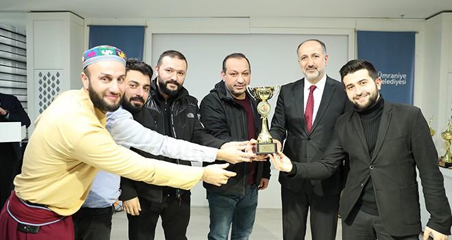 Ümraniye Belediyesi Birimler Arası Spor Müsabakalarının Ödül Töreni Yapıldı