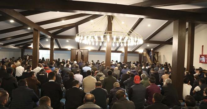 Belediye Mescidi Dualarla Açıldı