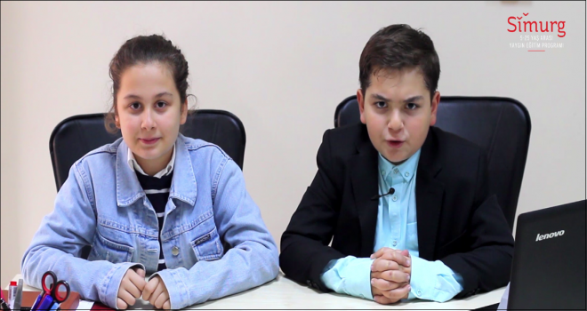 Simurg öğrencilerinden kısa film