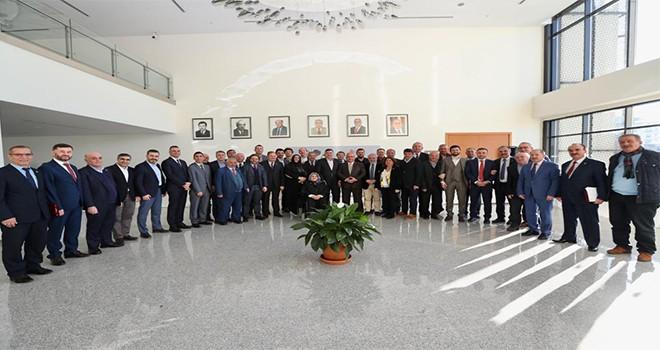 Başkan Hasan Can, Ümraniye Belediye Meclis Üyeleriyle Veda Yemeği Programında Bir Araya Geldi